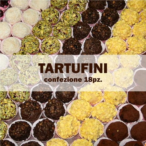 Truffles of 30gr (box fo 18pz)