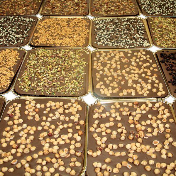 Plateaux de chocolat